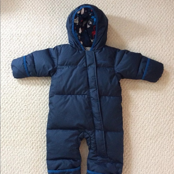 2c9a07621 columbia One Pieces | Infant Baby One Piece Snow Suit 612 Mo | Poshmark